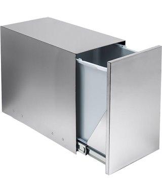 Мусорное ведро Ekotech ECOBOX INOX 14130007, на распашной фасад от 300 мм