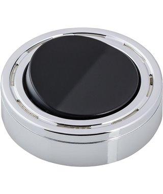 Накладной механический выключатель Elektra 52931002, хром/черный, выход вилка/розетка