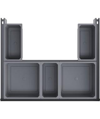 Внутренний выдвижной ящик Vauth-Sagel EKO Liner 14210001, под мойку, на выдвижной фасад 600 мм
