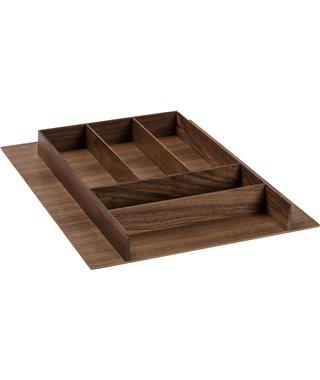 Лоток для столовых приборов Rockenhausen WoodLine 12260003, в ящик Blum Tandembox на ширину фасада 450 мм
