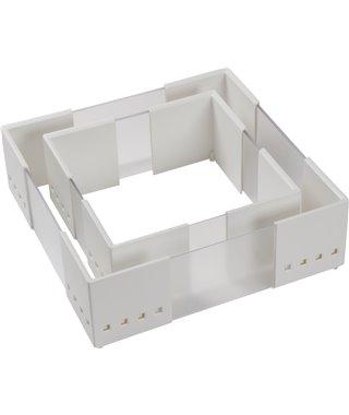 Разделитель для выдвижных ящиков Ninkaplast Cuiosio FLEX 14240004, белый