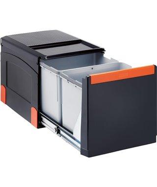 Система сортировки Franke Cube 41, 134.0055.270, ручное управление, 2х18 л