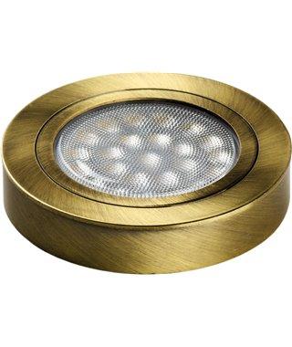 Светодиодный светильник Furnika ROUND DY 10.01.15.62D, свет теплый, цвет корпуса бронза