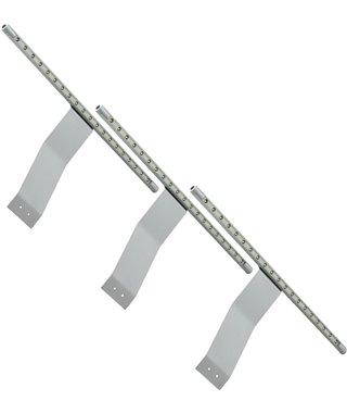 Комплект светодиодных светильников Furnika IKAR K10.01.03.21, цвет алюминий, трансформатор