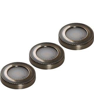 Комплект светодиодных светильников Forma E Funzione SUN ARTxT 13060019, античное, серебро трансформатор