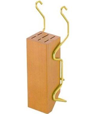 Держатель для ножей Lemi 31406, латунь