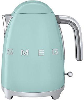 Чайник Smeg KLF03PGEU, пастельно зеленый
