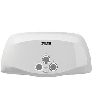 Водонагреватель Zanussi 3-logicTS(3,5kW)душ+кран
