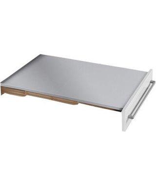 Выдвижной стол в шкаф Hailo Rapid, ширина 600 мм, цвет серый металлик