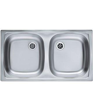 Кухонная мойка Alveus Basic 160, decor, 1039145
