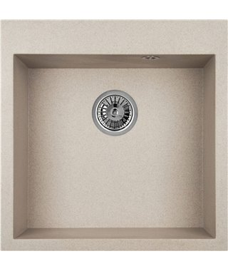 Кухонная мойка Granula GR-5102, антик, 505х510 мм