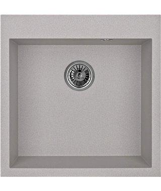 Кухонная мойка Granula GR-5102, базальт, 505х510 мм