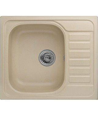 Кухонная мойка Granula GR-5801, брют, 575x495 мм
