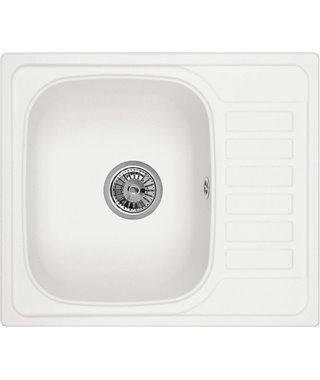 Кухонная мойка Granula GR-5801, арктик, 575x495 мм