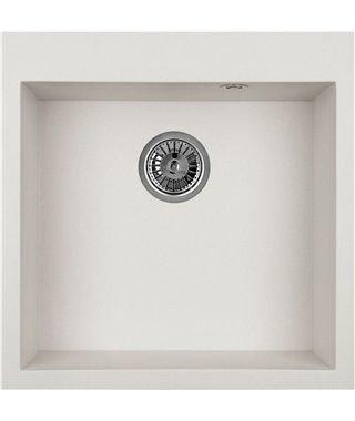 Кухонная мойка Granula GR-5102, арктик, 505х510 мм