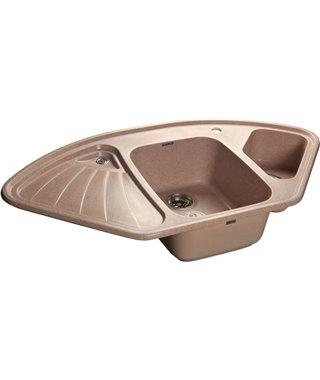 Кухонная мойка Granfest Corner GF-C1040E Светло-розовый 311