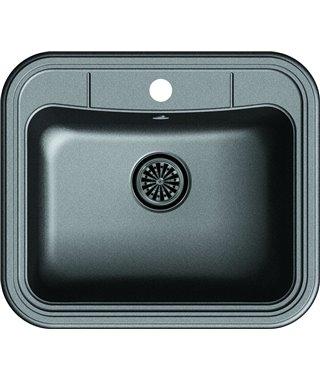 Кухонная мойка Ewigstein Antik 60, черный