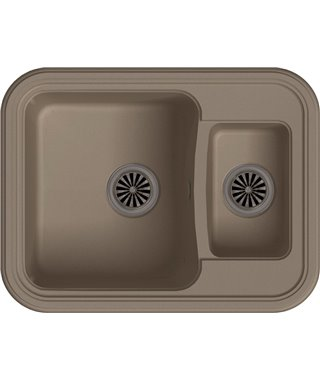 Кухонная мойка Ewigstein Antik 60К, темно-бежевый