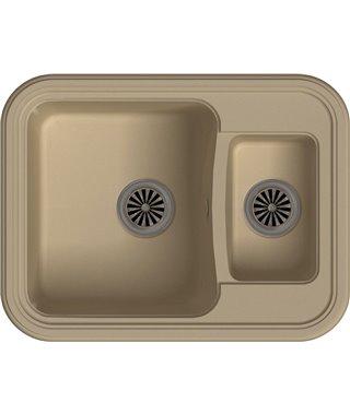 Кухонная мойка Ewigstein Antik 60К, топаз