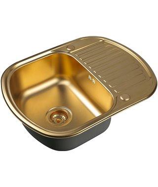 Кухонная мойка Zorg SZR-6249 BRONZE