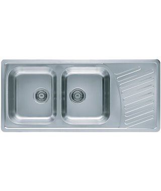 Кухонная мойка Alveus Elegant 70, сифон, 1110x510, 1009386