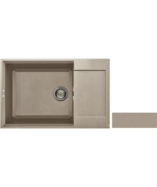 Кухонная мойка Elleci EASY 310, 780х500 LGY30043, granitek (43)
