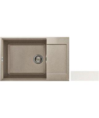 Кухонная мойка Elleci EASY 310, 780х500 LGY30068, granitek (68)