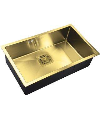 Кухонная мойка Zorg SZR-7444 Bronze