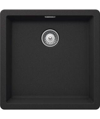 Кухонная мойка Schock Brooklyn 60, оникс, Cristalite, 456х456, 700991