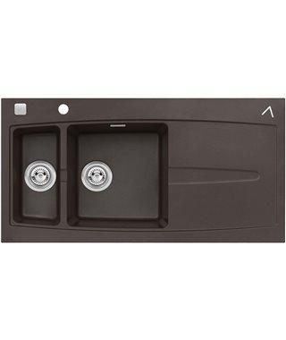 Кухонная мойка Alveus Apelles 70 Chocolate-G03M
