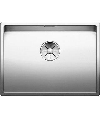 Кухонная мойка Blanco Claron 550-U, зеркальная полировка
