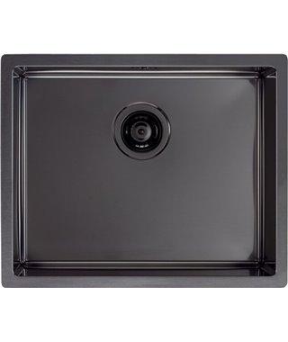 Кухонная мойка Alveus ALVEUS Quadrix 50+выпуск, 550х450, графит