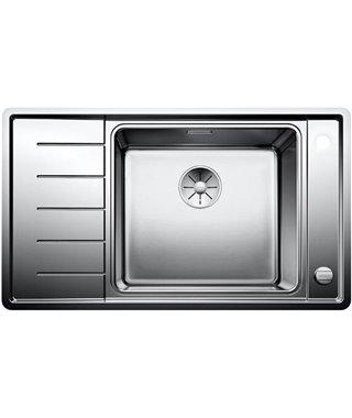 Кухонная мойка Blanco Andano XL 6S-IF Compact InFino, нерж. сталь с зеркальной полировкой, чаша справа