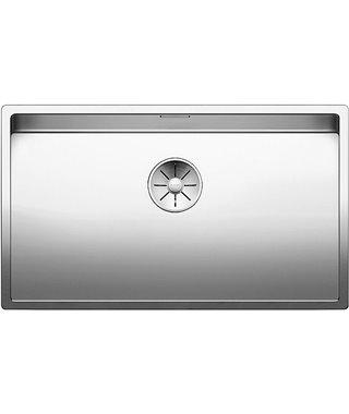 Кухонная мойка Blanco Claron 700-U, зеркальная полировка