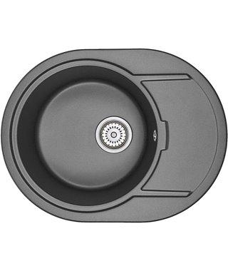 Кухонная мойка Granula GR-6502, черный