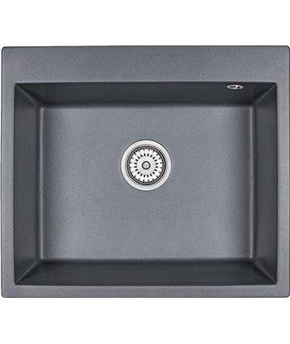 Кухонная мойка Granula GR-6001, шварц