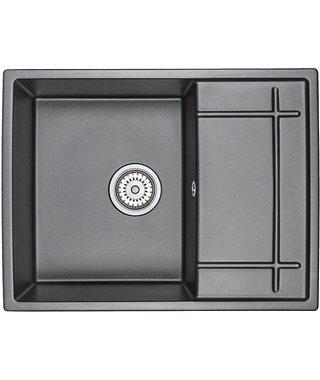 Кухонная мойка Granula GR-6501, шварц