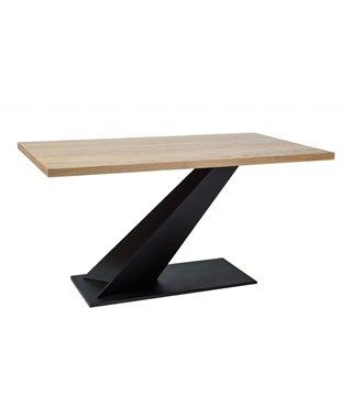 Стол обеденный Signal ARROW 150 (дуб натуральный/черный)