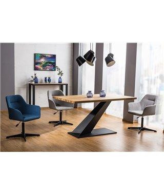 Стол обеденный Signal ARROW 150 (дуб/черный)
