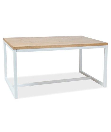 Стол обеденный Signal LORAS A 150 (дуб натуральный/белый)