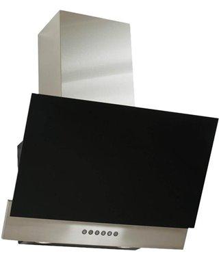 Вытяжка Elikor RX6754XB, 954542, нержавейка/черное стекло