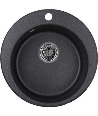Кухонная мойка Granula GR-4801, черный