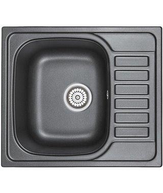 Кухонная мойка Granula GR-5801, шварц