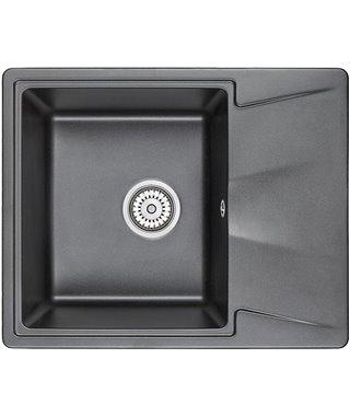 Кухонная мойка Granula GR-6201, шварц