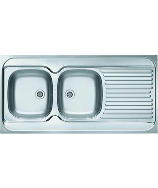 Кухонная мойка Alveus Classic 100 Sat/Сатин