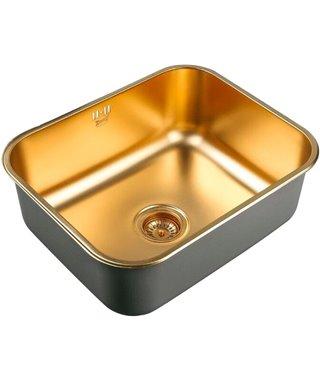 Кухонная мойка Zorg SZR-5343, Bronze