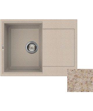 Кухонная мойка Elleci EASY 135, 680*500, granitek (G1) LGY135G1