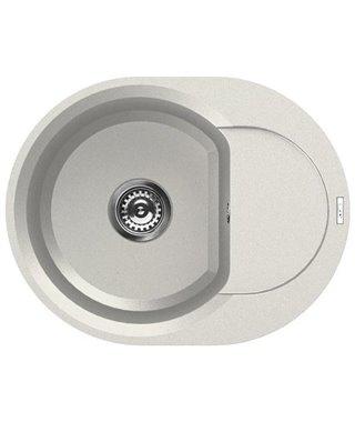 Кухонная мойка Elleci Easy Round 600, 600*471, granitek (68) LGY60068