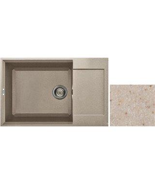 Кухонная мойка Elleci EASY 310, 780х500 LGY300G2, granitek (G2)