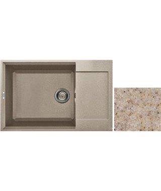 Кухонная мойка Elleci EASY 310, 780х500 LGY300G1, granitek (G1)